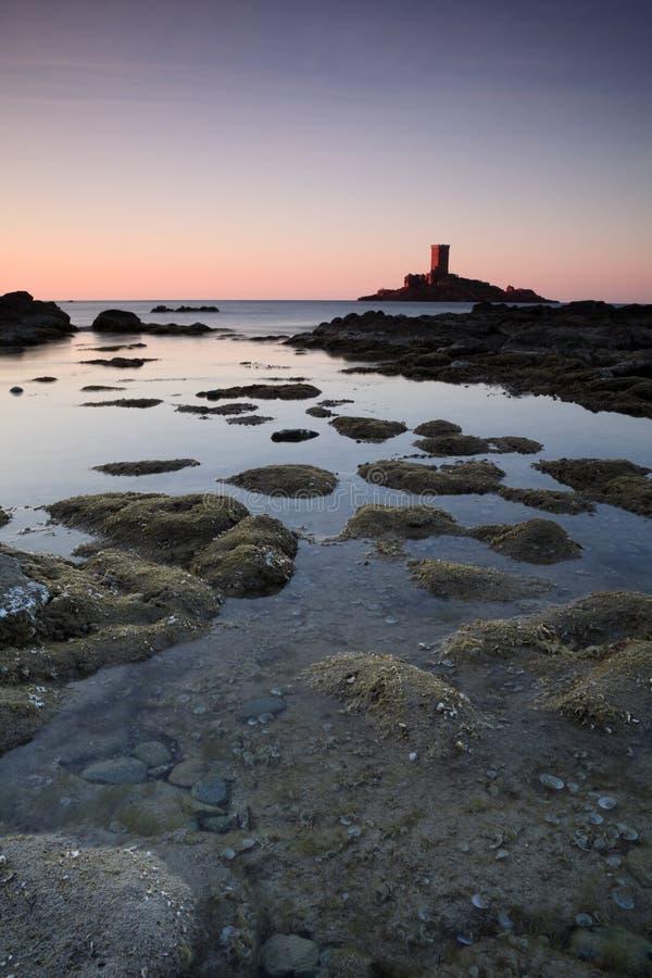 Island On The Riviera Stock Image