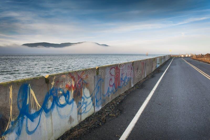 Island Roadway royalty free stock image