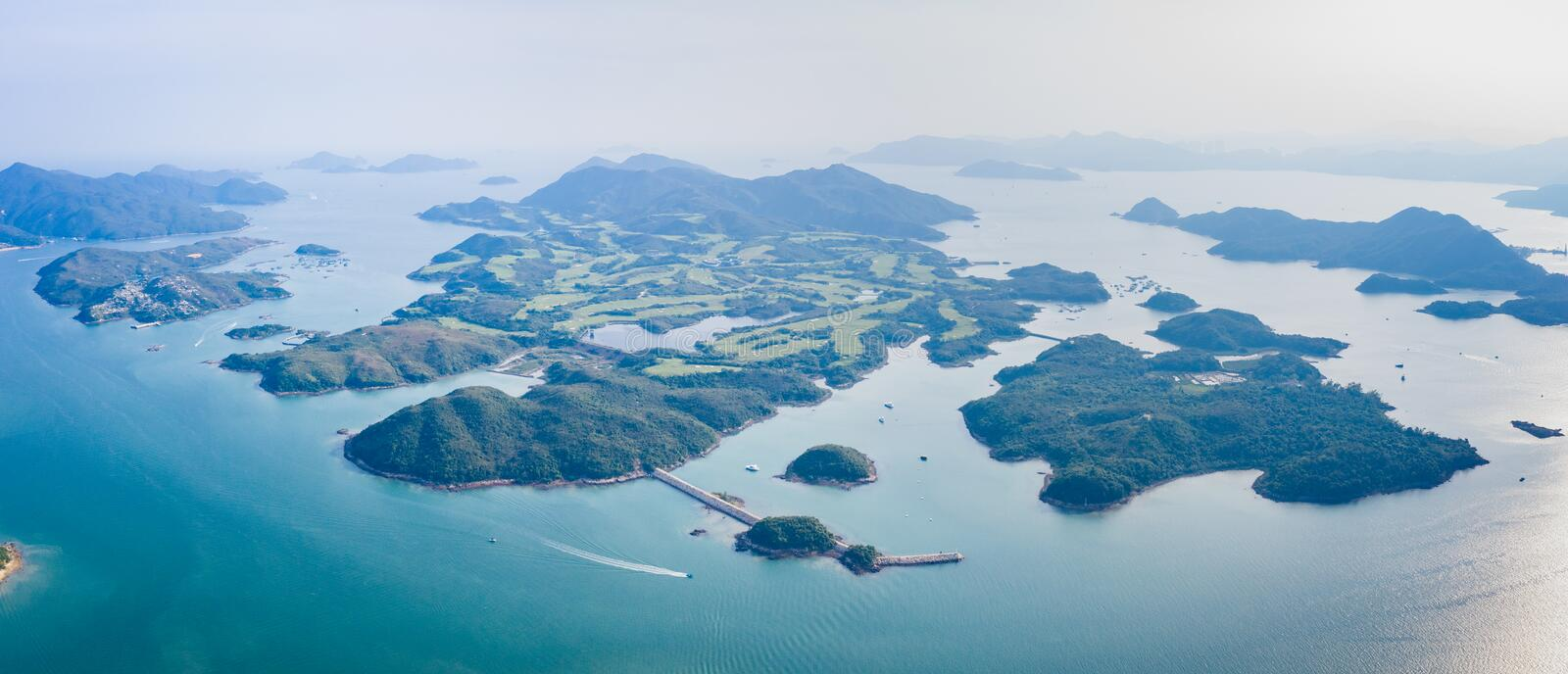 This is about Island in Sai Kung. Hong Kong royalty free stock photos