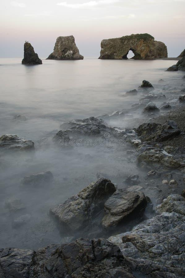 island Sakhalin stock images