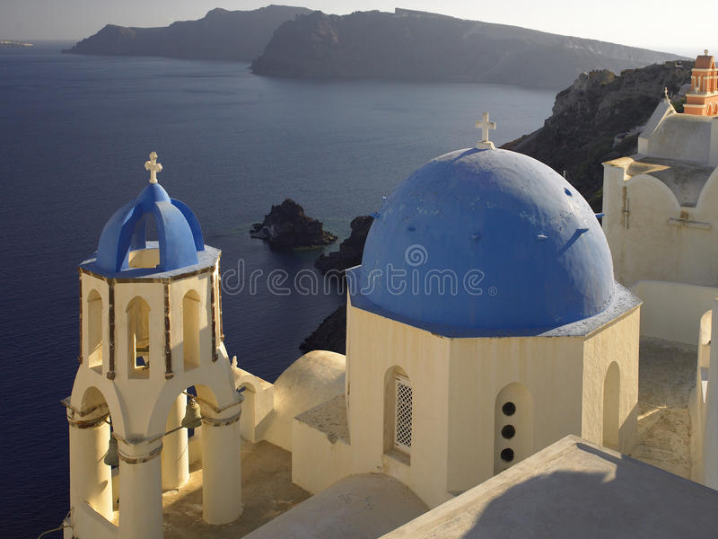 Island of Santorini - Greece stock images