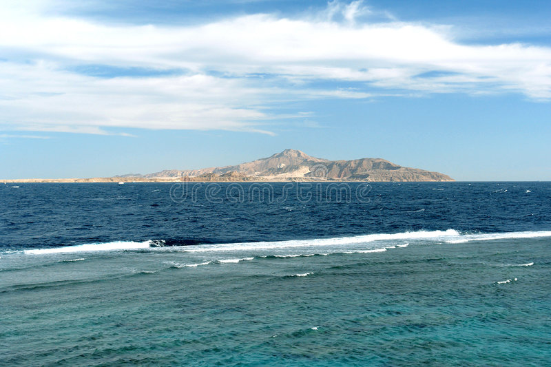 Download Island in the sea stock photo. Image of shoaliness, water - 5636198