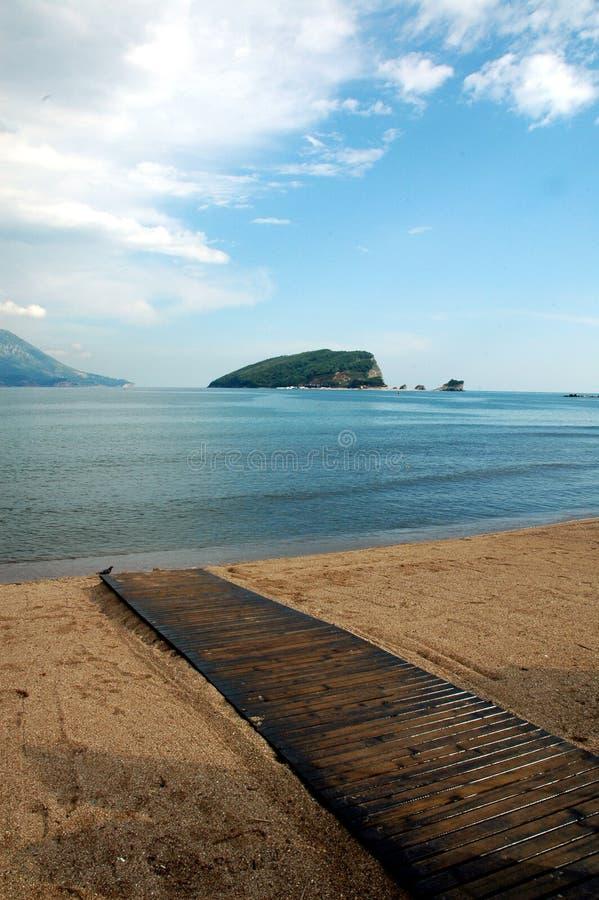 Free Island St. Nikola, Budva Royalty Free Stock Photos - 807398
