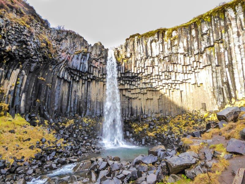 Island - storartad vattenfall royaltyfri foto