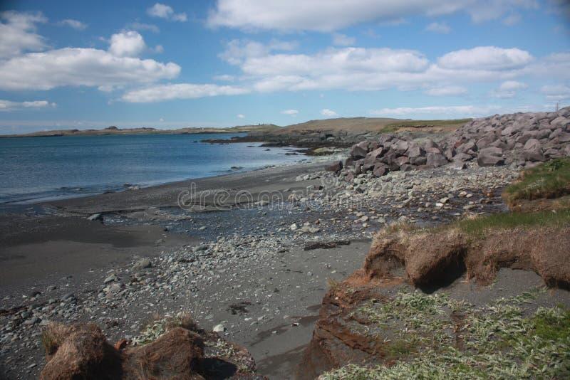 Island strand arkivbilder