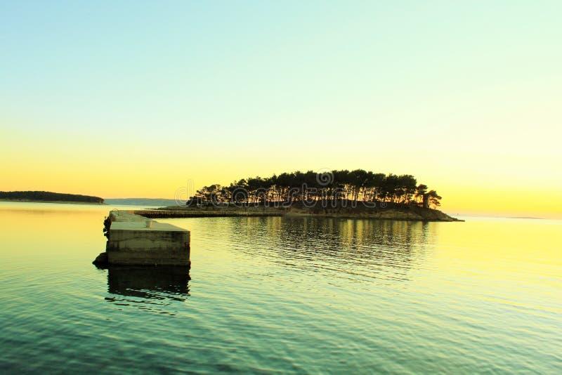 Island At Sunset Free Public Domain Cc0 Image