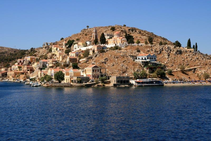Island Symi stock image