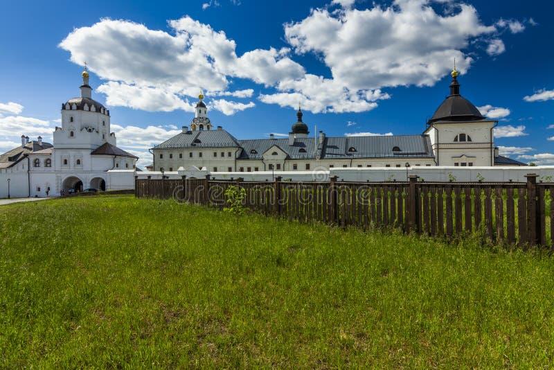 Island-town Sviyazhsk. Sviazhsky Holy Dormition Monastery. Tatarstan royalty free stock photography