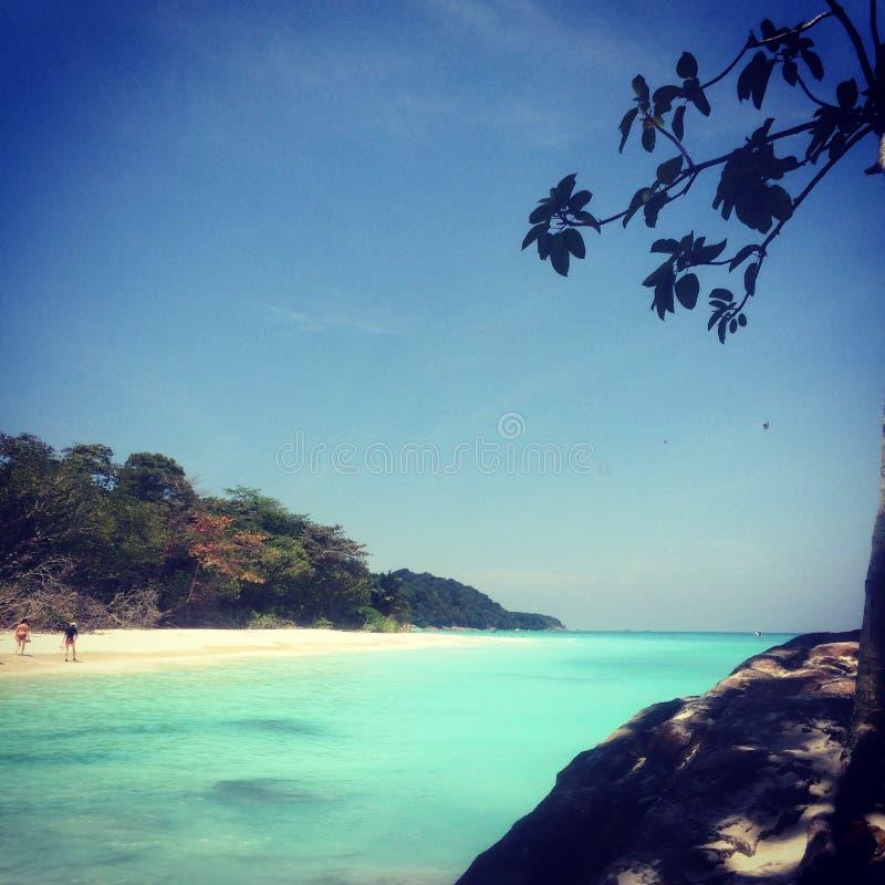 Island trip stock photography