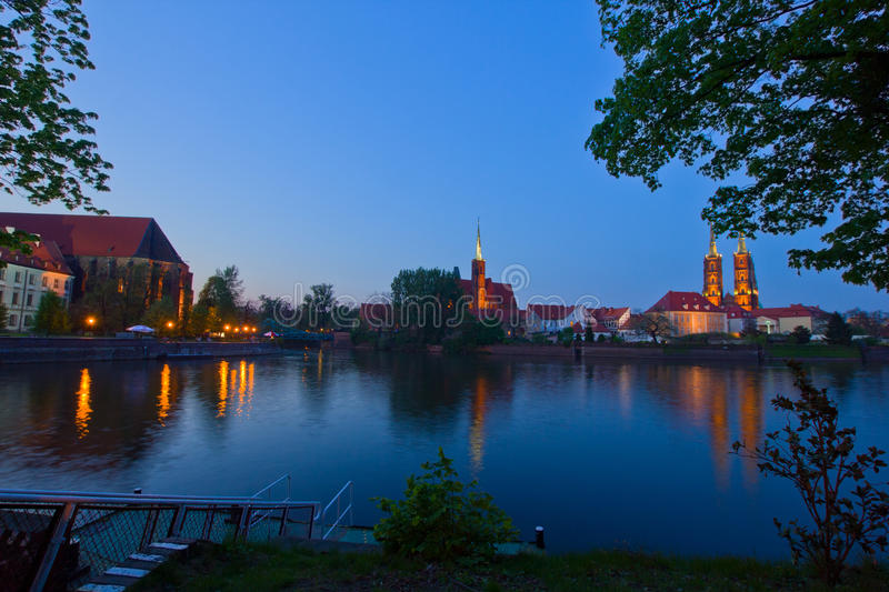 Download Island Tumsk, Wroclaw, Poland Royalty Free Stock Images - Image: 24800039