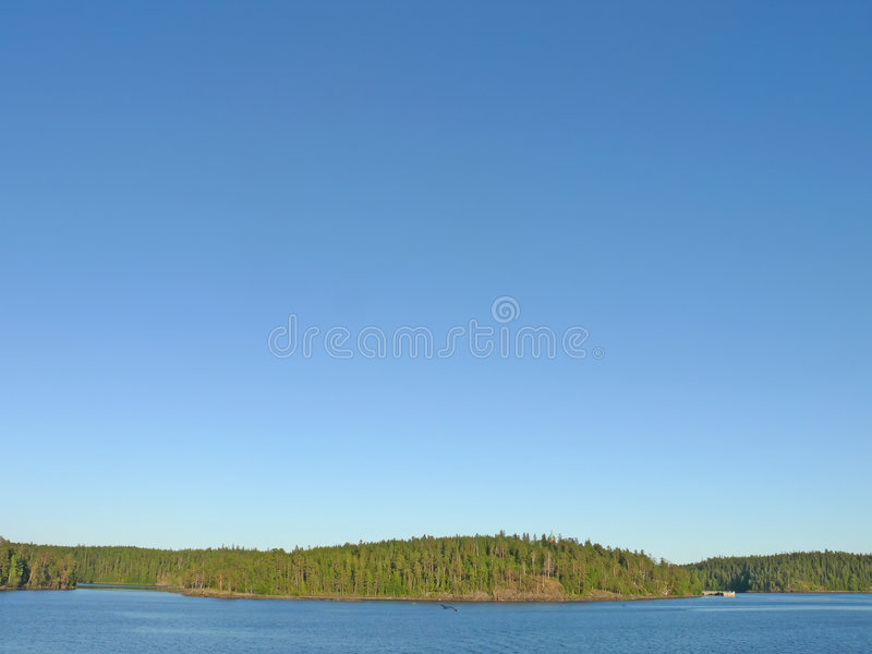 Island Valaam on Ladoga lake royalty free stock photography