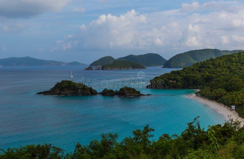 Island view stock photo