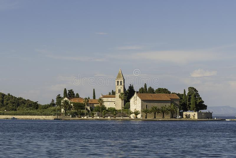 Island Vis Croatia stock photography