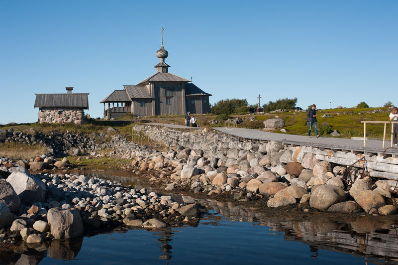 Island Zayatsky, Solovki stock photos
