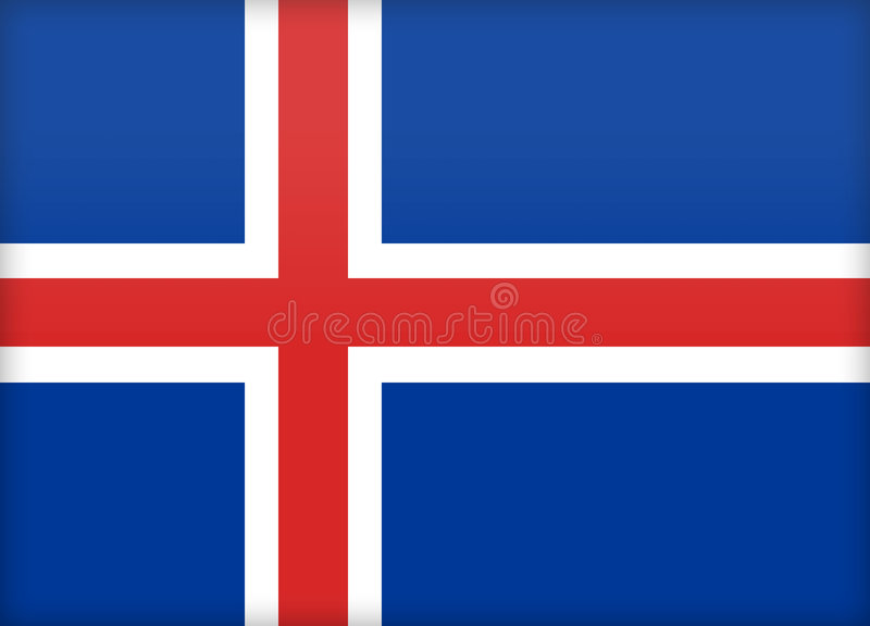 islandia royalty ilustracja