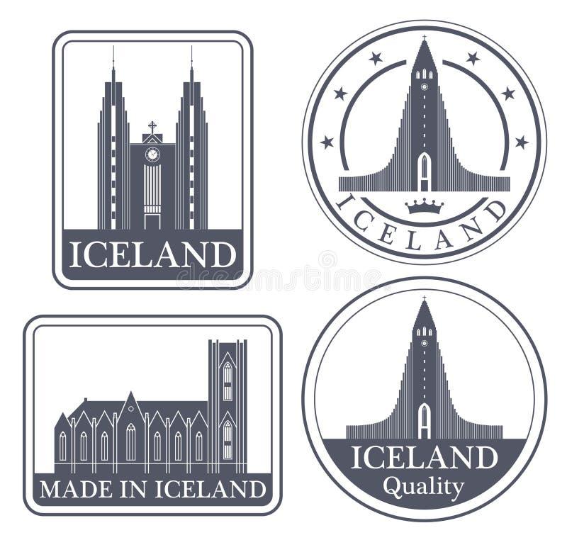 Islandia abstracta libre illustration