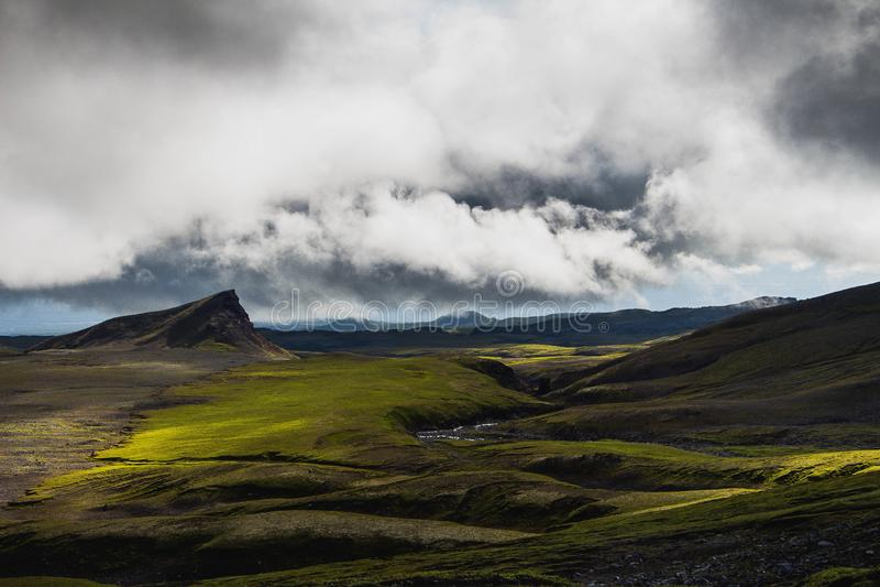 Islandia hermosa rusa imágenes de archivo libres de regalías