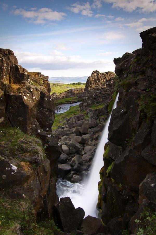 Islandia: Parque nacional de Thingvellir fotografía de archivo