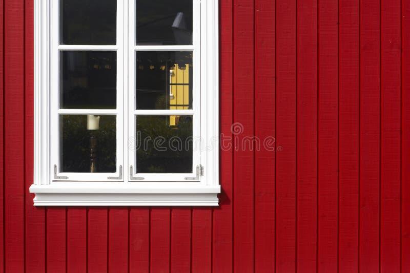 islandia Siglufjordur Fachada de madera islandesa tradicional imágenes de archivo libres de regalías