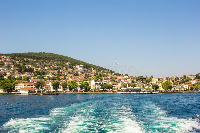 islands伊斯坦布尔王子 库存照片