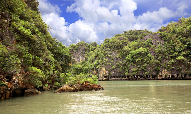 Download Islands in Andaman sea stock image. Image of pine, blue - 14618369