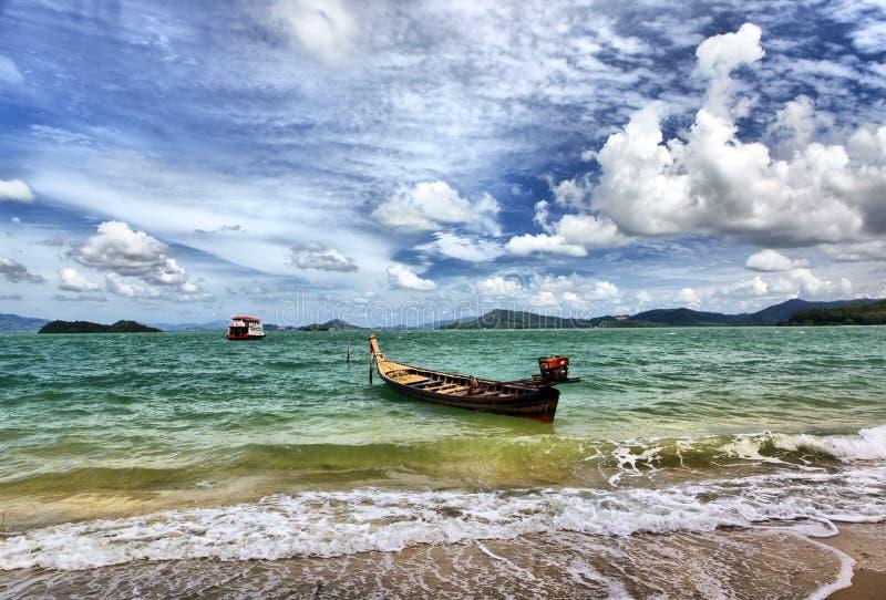 Islands in Andaman sea stock image