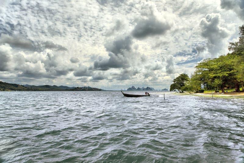 Islands in Andaman sea stock photo