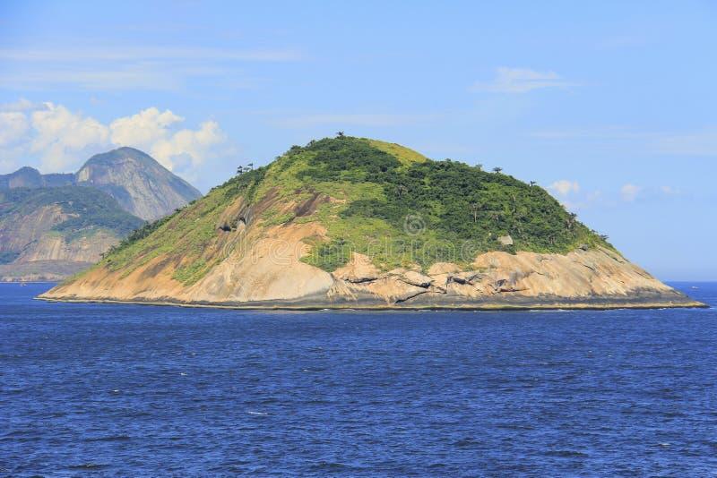 Islands around the world, Redonda Island in Rio de Janeiro, Brazil. South America stock photography