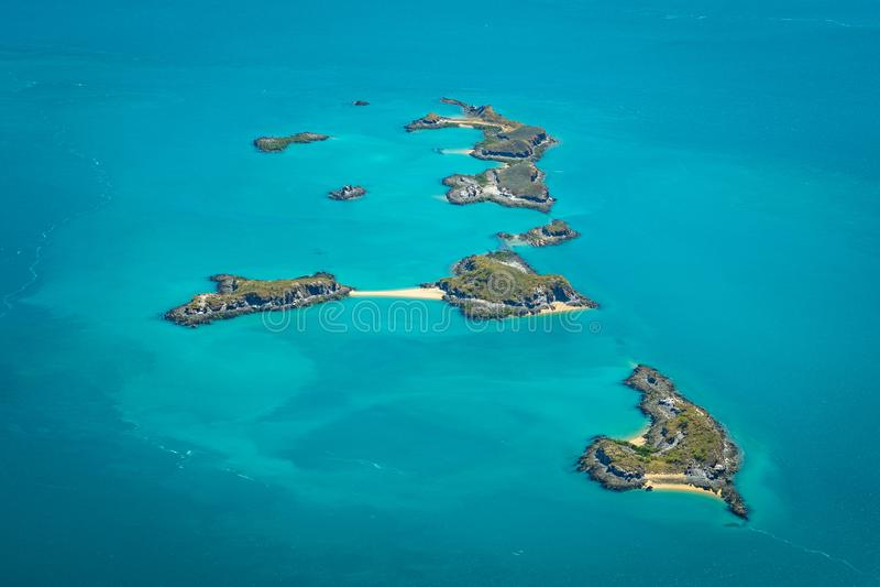 Islands in the Buccaneer Archipelago, Western Australia. Multiple islands in the Buccaneer Archipelago, Western Australia royalty free stock photography