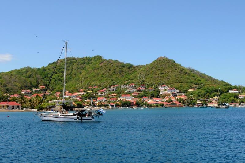 Islands of Les Saintes royalty free stock photo