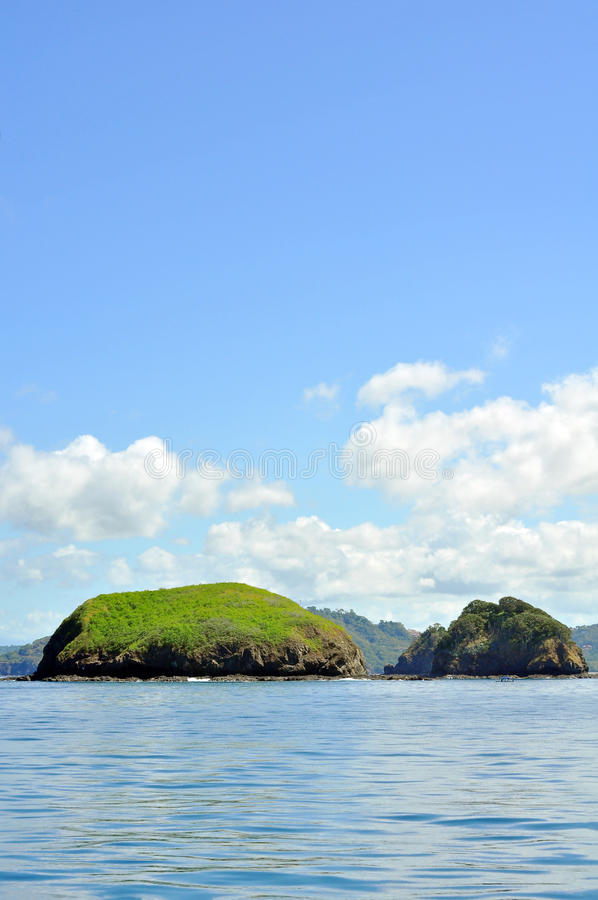 Islands Off The Coast Of Costa Rica Stock Photo