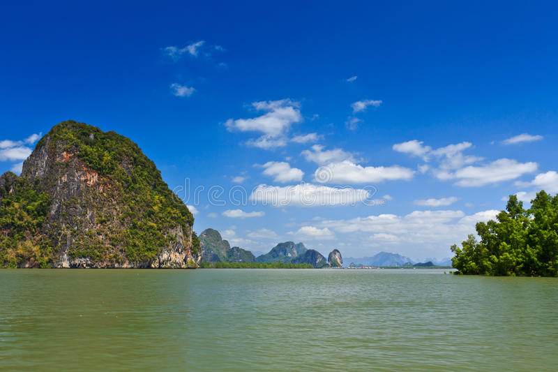 Download Islands in a Phang Nga Bay stock photo. Image of archipelago - 24266764