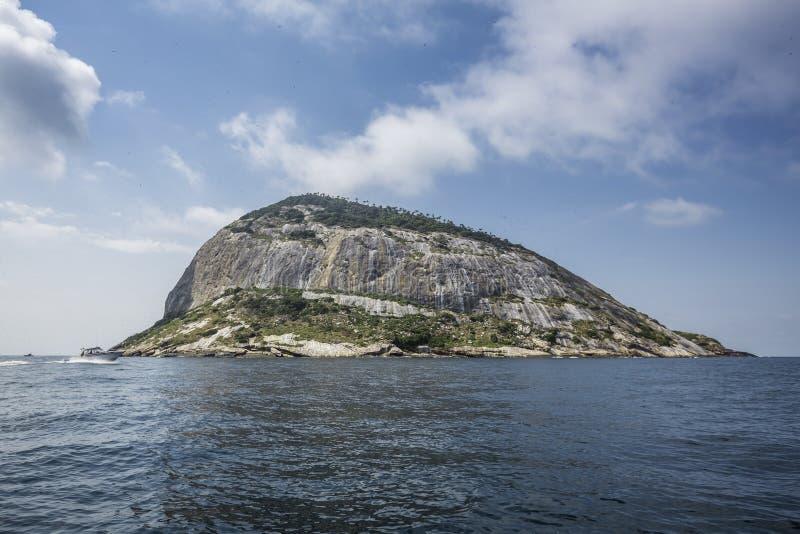 Islands of Rio de Janeiro - Ilha das Palmas. Brazil stock images