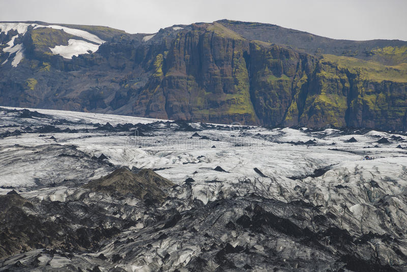 ³ Islands Sà lheimajökull lizenzfreies stockfoto