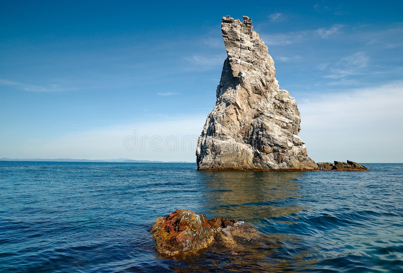 Download Islands of sea of Japan stock photo. Image of recreation - 7130446