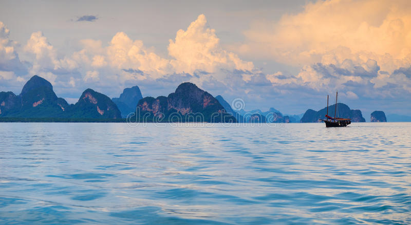Islands of Thailand stock images
