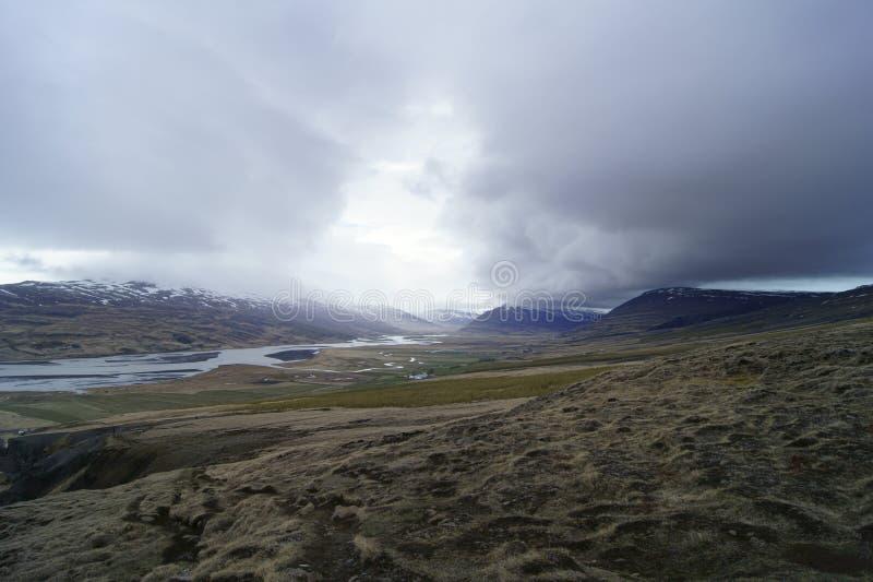 Islandzka natura zdjęcia royalty free