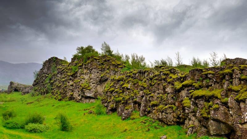 Islandzki krajobraz obraz royalty free