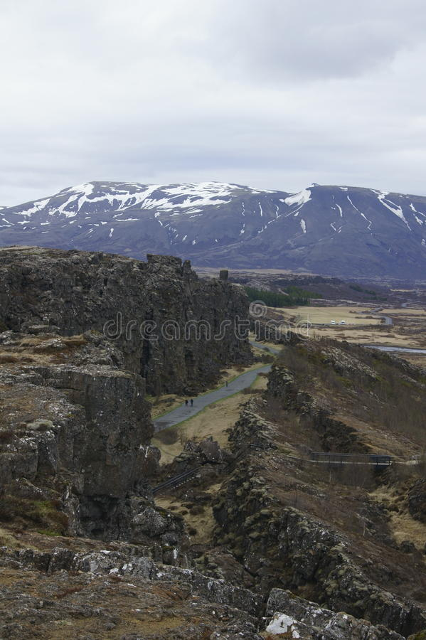 Islandzkie góry obraz royalty free