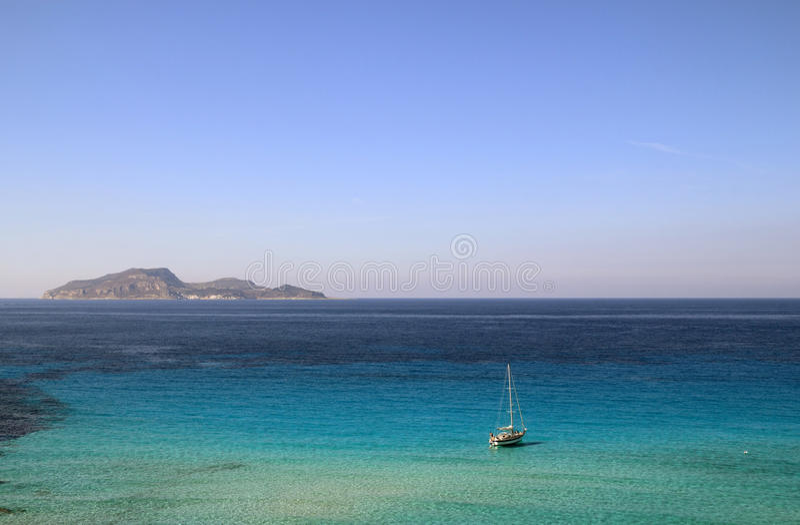 Islas de Egadi imagen de archivo