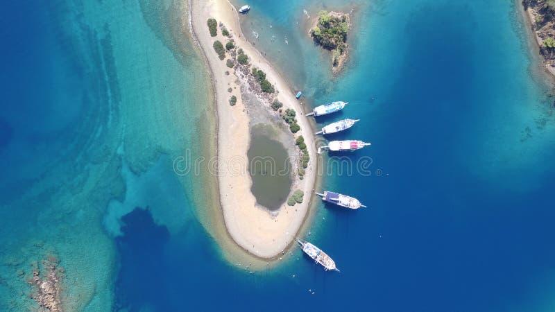 Islas de Gocek foto de archivo libre de regalías