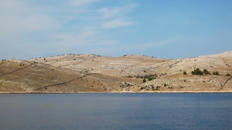Islas de Kornati imagen de archivo libre de regalías