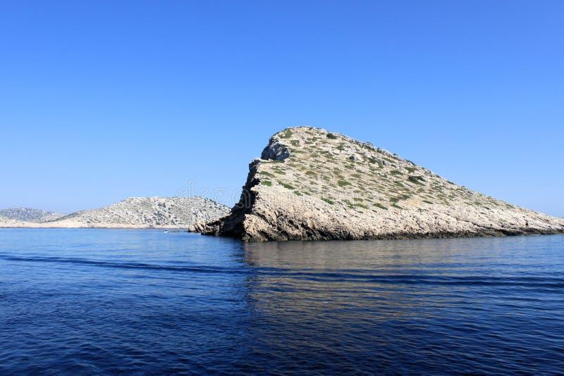 Islas de Kornati foto de archivo libre de regalías