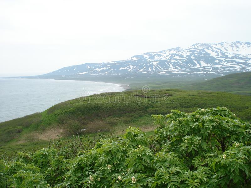 Islas de Kuril imagen de archivo