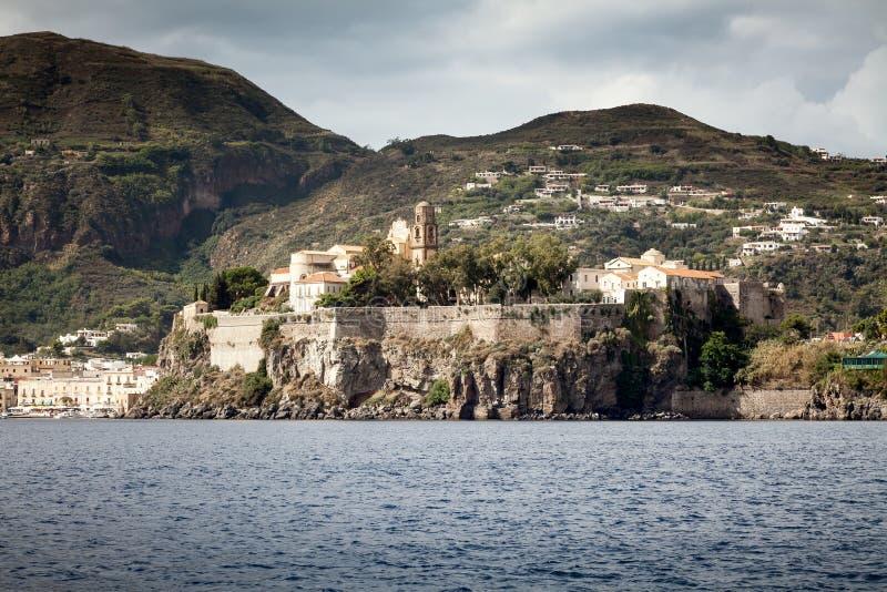 Islas de Lipari fotografía de archivo