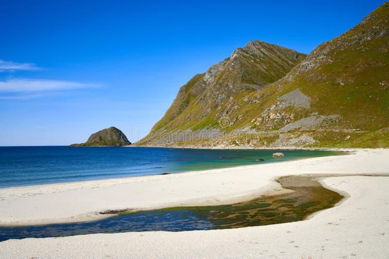 Islas de Lofoten imágenes de archivo libres de regalías