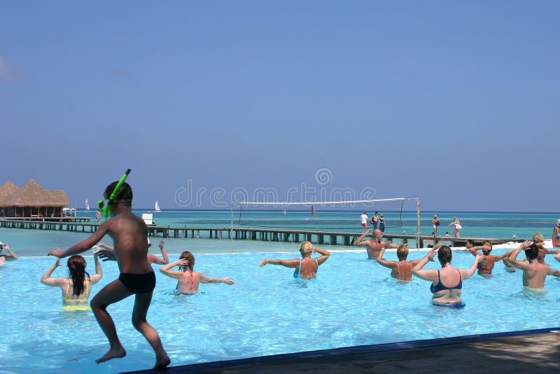 Islas de Maldives fotografía de archivo