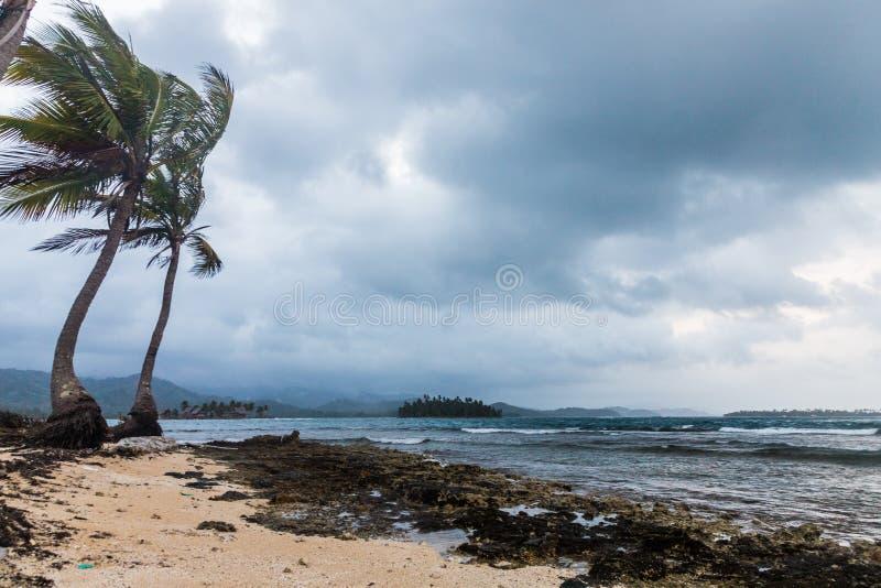 Islas de San Blas en Panamá imagen de archivo