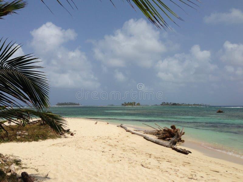 Islas de San Blas en Panamá imágenes de archivo libres de regalías