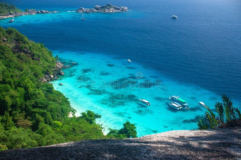 Islas de Similan imagenes de archivo